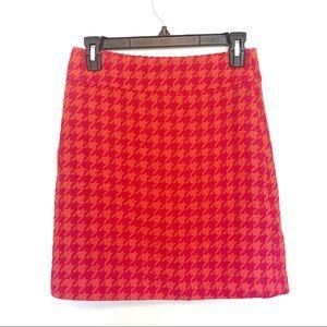 Dresses & Skirts - HallHuber Pink and Orange Print Skirt 34